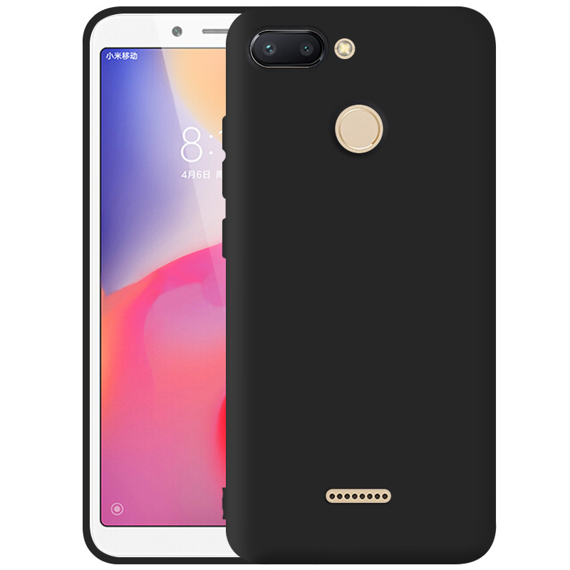Case For Xiaomi 5 5S Max 6 6X 8 8 SE Note 3 5S Plus Redmi Note 5 Pro 5 5A 5 Plus 6 6A 6 Pro 4 4X Candy colored Matte phone Cover in Fitted Cases from Cellphones Telecommunications