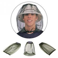 Beekeeping Tools Mosquito Insect Hat Bug Mesh Head Net Face Protector Travel Camping Fishing Gedgets black mosquito bug insect bee mesh head net protect hat fishing camping hunting