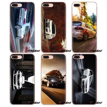 Shell Transparente macio Capas Para iPod Touch Da Apple iPhone 4 4S 5 5S SE 5C 6 6 S 7 8 X XR XS Mais MAX Volkswagen Golf GTI Carro(China)