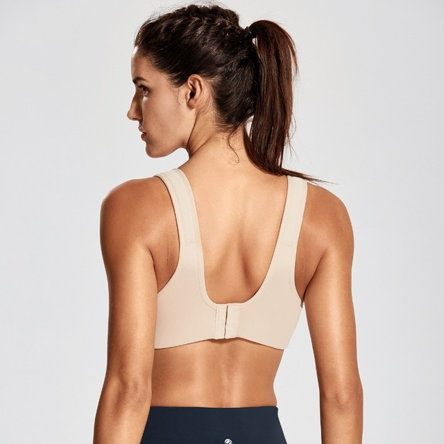 Full Support Underwire Padded Contour Plus Size Sports Bra
