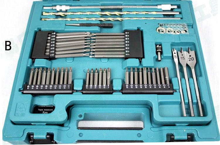 Makita MACCESS sorozat 200 db KIT fúrófejek Kötőfej-javító - Elektromos szerszám kiegészítők - Fénykép 4