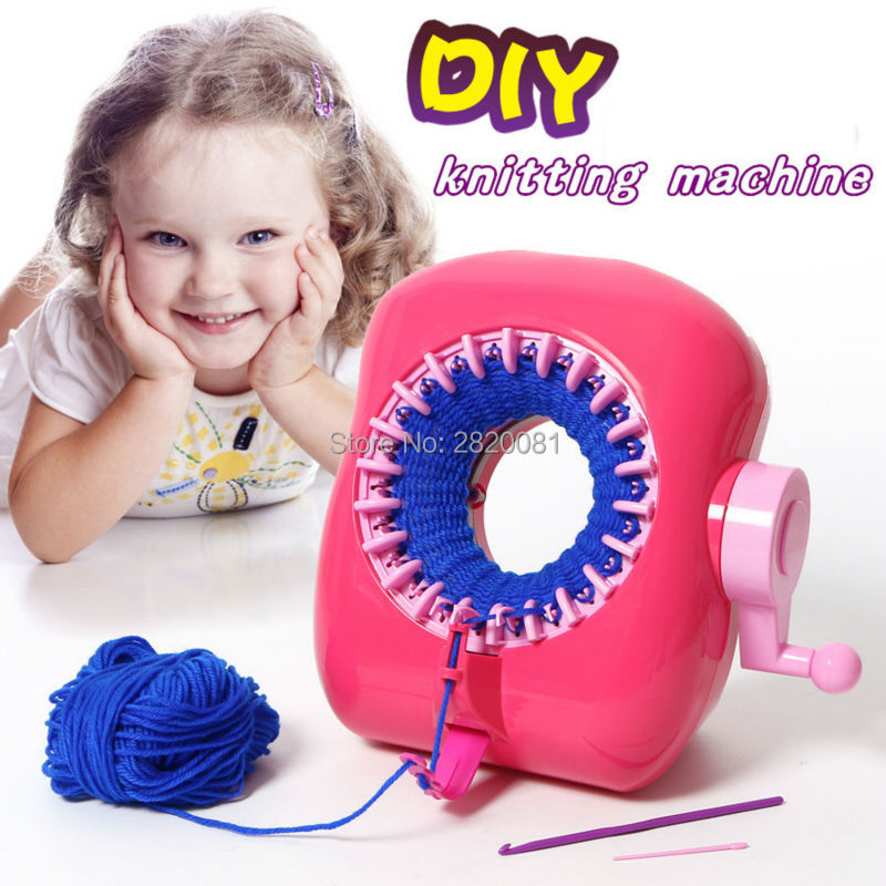 Diy Knitting Machine Circular Plain Knit Manual Wool Hat Scarf Swe