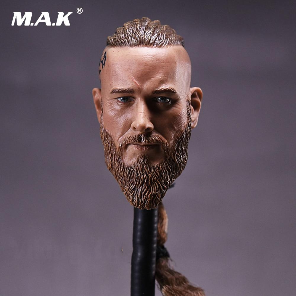 1/6 Scale Head Sculpt Viking Travis Fimmel For Militayr Muscle Body Figures 1 6 scale mens head sculpt viking travis fimmel with braid for 12 inches male muscular bodies figures dolls