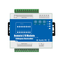 CANopen Remote IOT Module supports PWM high speed pulse output Stepper Motor Direction Controller M420C