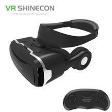 Новые 3D очки VR коробка с наушников виртуальной реальности 3D видео очки VR шлем для 4.5-6.0 дюймов iphone /Android/фильмы