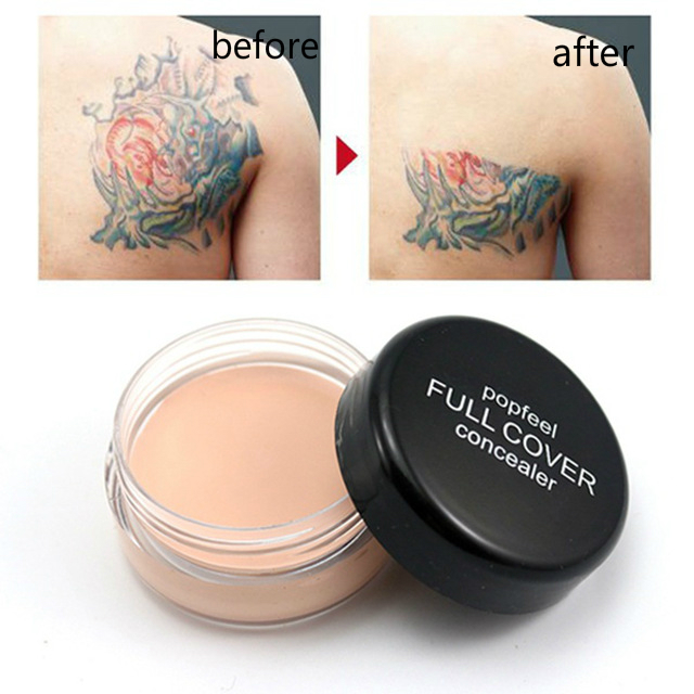 Hide Blemish Face Cream Concealer Makeup Foundation Professional Full Cover Base Make Up Concealer Cream Cosmetics