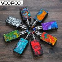 Electronic Cigarette Voopoo Drag 2 177W TC Kit with Uforce T2 SubOhm Tank U2/U3 Powered By Dual 18650 Battery Vape Vaporizer Kit