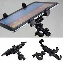 Adjustable Bike Bicycle Handlebar Stand Mount Secure Universal Bracket Clip for Tablet iPad