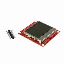 Белый Подсветка 84*48 84×84 ЖК-дисплей Дисплей модуль адаптер платы для Nokia 5110 для Arduino DIY Kit