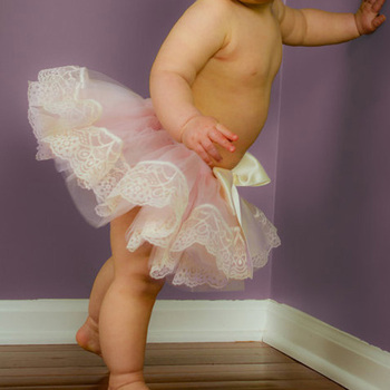 1T Baby Girl Ribbon Short Tutu Skirt Chiffon Casual Ruffle Mini Tutu Pink Layers Ball Gown Pettiskirt For Child Kids Party Skirt 1