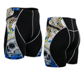 Nueva Marca de Alta Calidad de Los Hombres pantalones cortos Para Hombre Original de Compresión Cortos 3D Print Short de secado rápido Envío gratuito