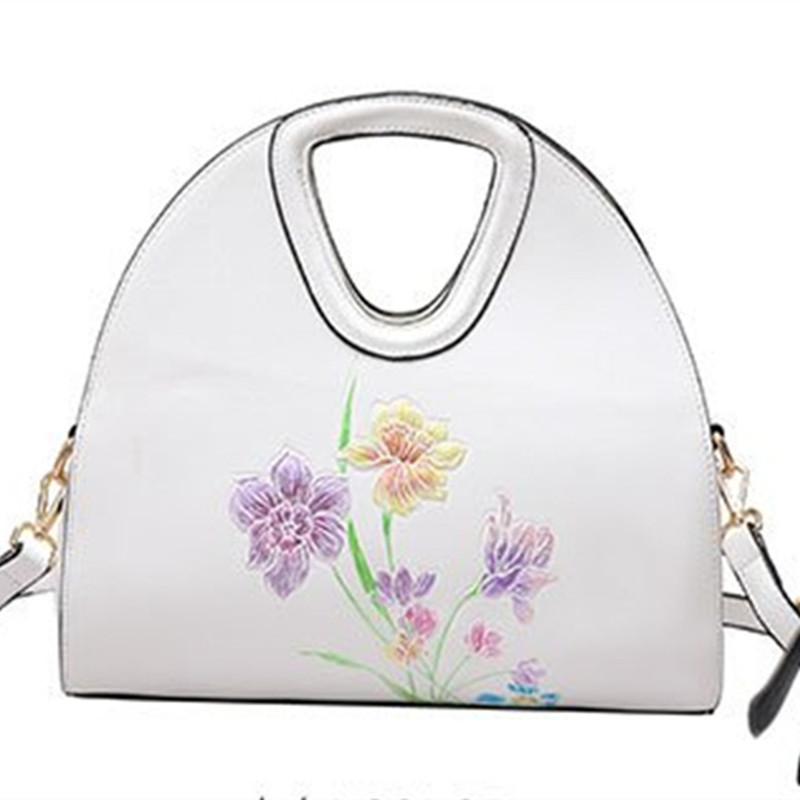 D'embrayage National Main Broderie Messenger Black pink Chinois Coton Nb199 white Et À Conception Nouvelle Fleur Or Lin Sac Style tAqwvxTXO