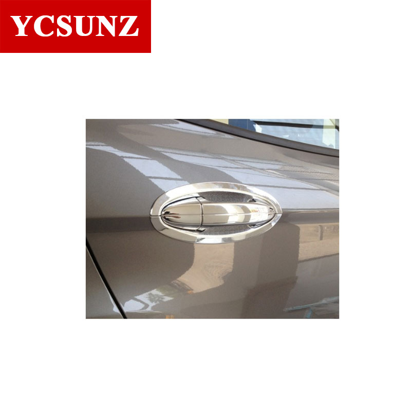 2016-2017 For Ford Ecosport Accessories Chrome Door Handle Cover Bowl Suitable FORD ECOSPORT 2014 2015 2016+ Car Styling Parts  sc 1 st  AliExpress.com & Online Get Cheap Car Chrome Parts Ford -Aliexpress.com | Alibaba Group markmcfarlin.com