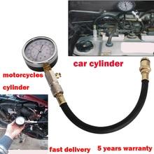 0 300 PSI diagnostic tool Auto Motor GASOLINE ENGINE COMPRESSION CHECK DIAL TESTER GAUGE Car Accessories Car Auto Part