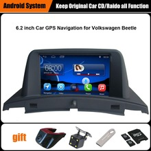 Фотография 6.2 inch Touch screen Win ce 6.0 system car gps for Car Audio video for VW Beetle