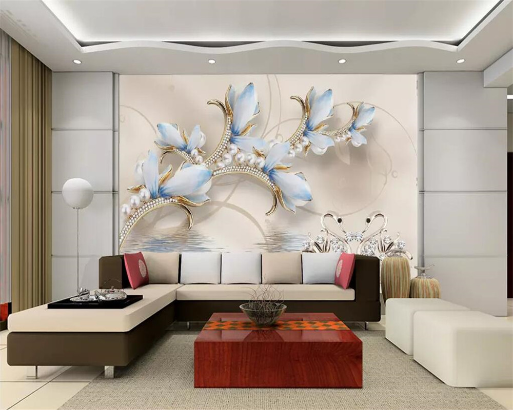 living bedroom decoration interior bhk designing bangalore unit services area flat furniture beibehang wallpapers jd mounted provided residential wood magnolia