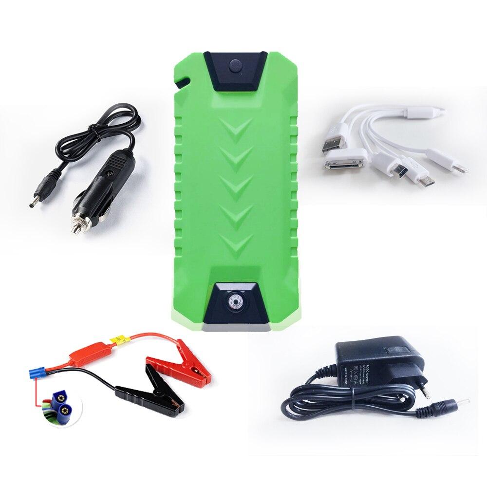 Newest High capacity <font><b>Portable</b></font> Car Battery Charger Starting Car Jump Starter Booster <font><b>Power</b></font> Bank Auto Best quality Light-weight