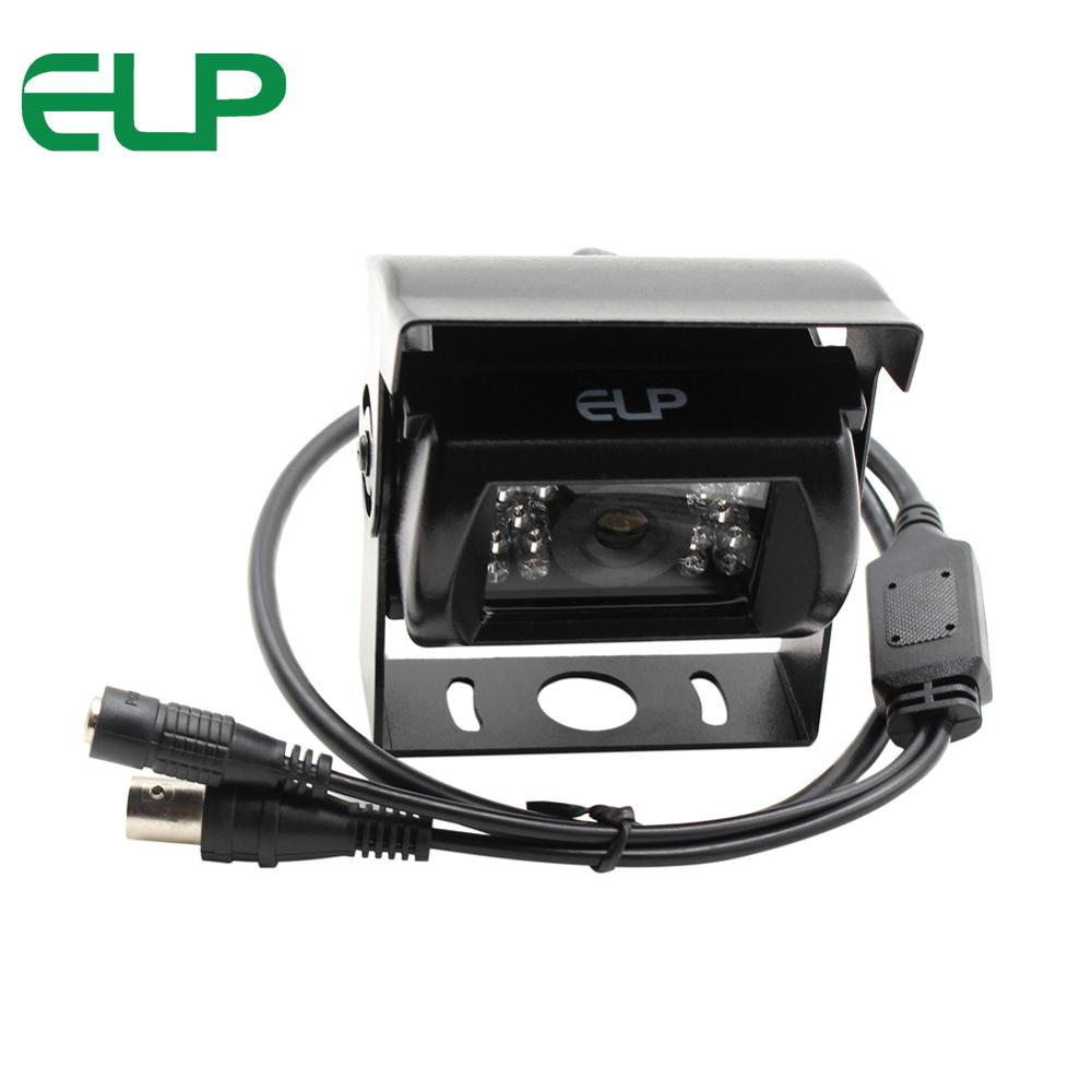 720P 18PCS IR LED High definition Analog AHD Camera 1MP mini car rearview camera