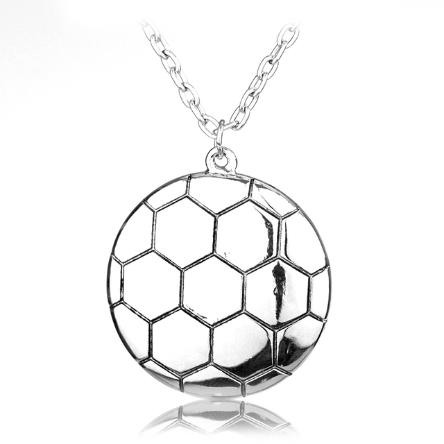 Football Couple Necklace