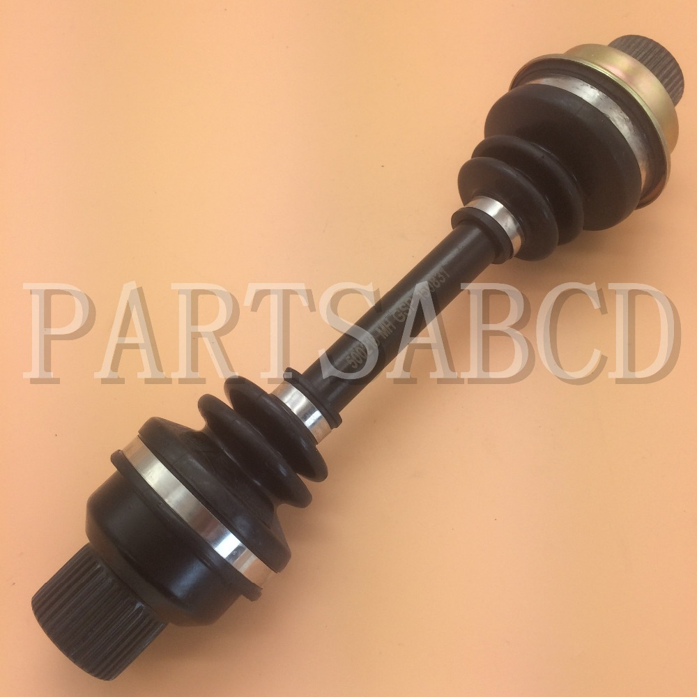 Front drive shaft differential driveshaft axle for yamaha grizzly 660 yfm660 atv 4x4 2003 2008