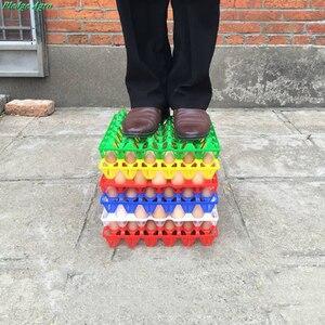 Image 5 - 10 шт куриное яйцо поднос 30 яиц емкость пластиковая транспортировка хранение коммерческий яйца сельскохозяйственное оборудование инструменты