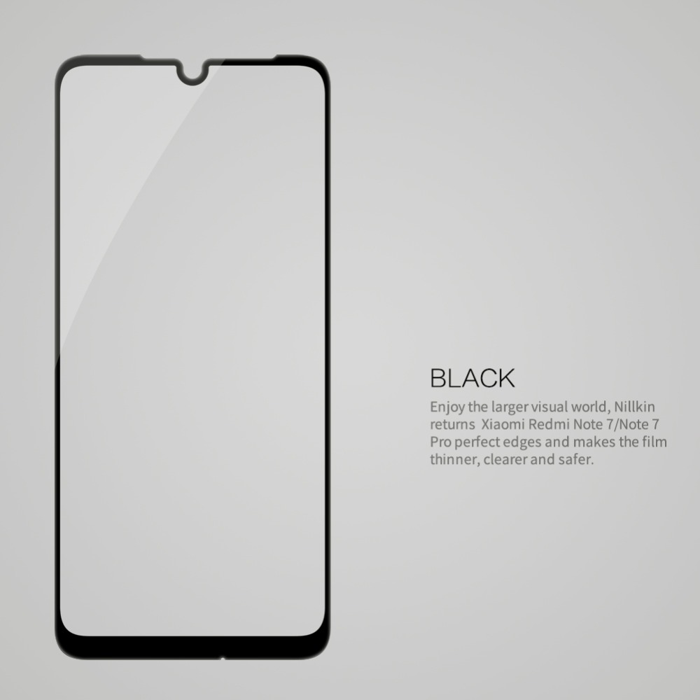 Image 5 - Redmi Note 7 Glass Nillkin CP+ Full Glue Coverage Screen Protector Tempered Glass for Xiaomi Redmi Note 8 Pro 7Pro 7S-in Phone Screen Protectors from Cellphones & Telecommunications on