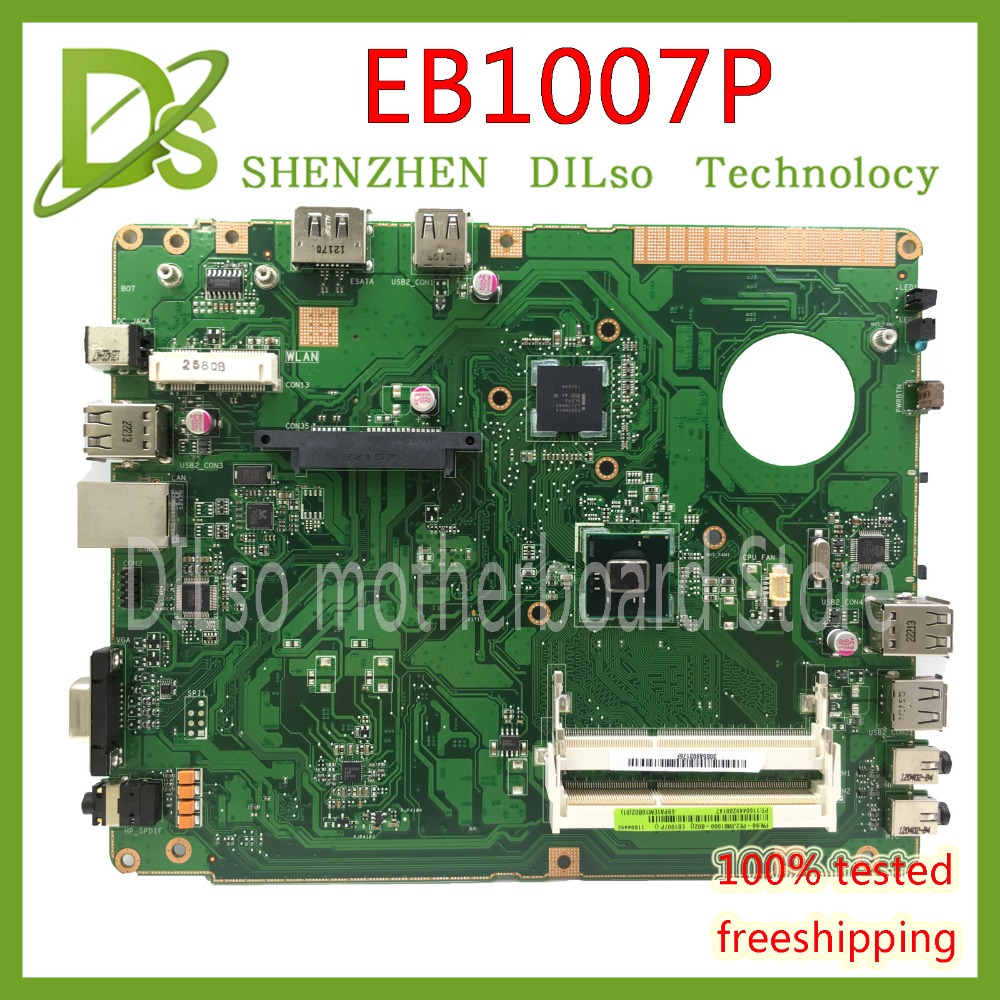 KEFU EB1007P For ASUS EB1007P EB1007 E1007P mainboard 2 slots RAM laptop motherboard original Test work 100% цена и фото