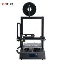 Ortur4 Высокая точность Impresora 3d хорошая скорость домашнего использования 3d принтер мощность резюме датчик накаливания автоматическое выравни