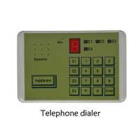 (1 PCS) tiger 911 Auto telefon Dialer Alarm system zubehör Aufruf Transfer Tool Feste Terminal setzen in NC KEINE oder spannung