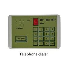 Tiger 911 marcador teléfono automático, sistema de alarma, accesorios, herramienta de transferencia de llamadas, Terminal fijo, NO entrada NC o voltaje, 1 Uds.