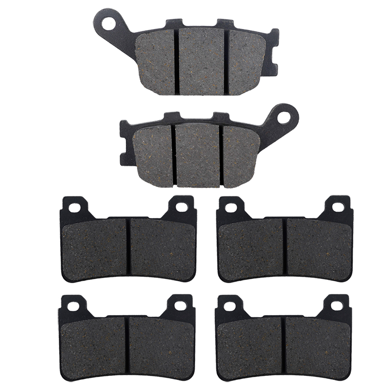 Motorcycle Front and Rear Brake Pads for HONDA CBR 600 RR (2005-2006) CBR 1000 RR (2004-2005) Brake Disc Pad Kit motorcycle front and rear brake pads for honda cb600f cb600 f 599 2004 2006 brake disc pad kit