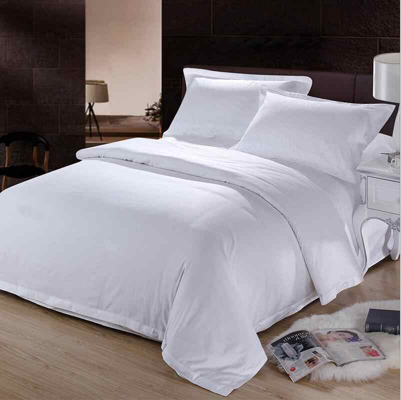 Pure White Duvet Cover Queen King Size