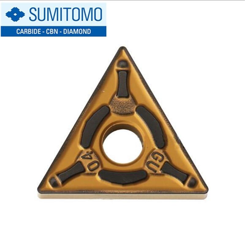 Original Sumitomo TNMG 160404 TNMG160404 TNMG160408 N-GU TNMG160404N-GU AC630M TNMG160408N-GU AC630M Carbide Inserts Lathe Tools