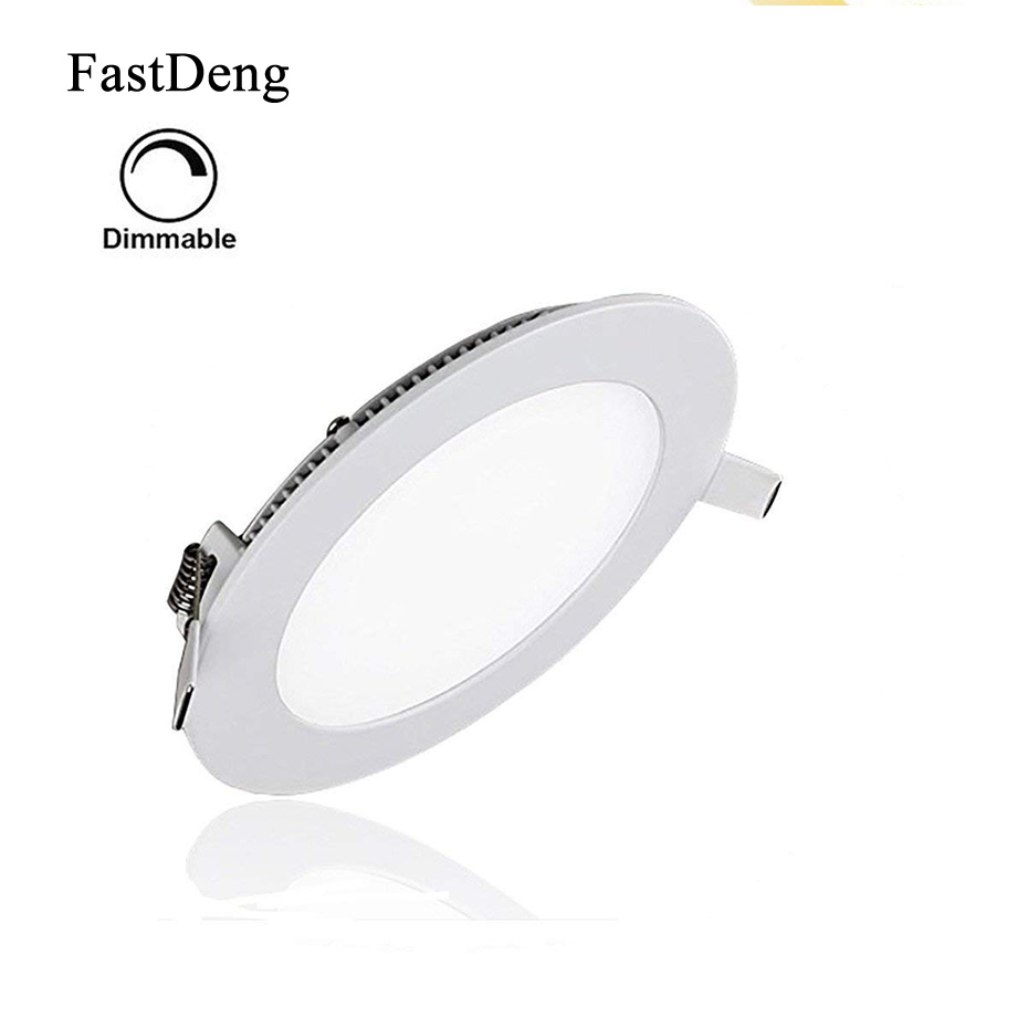 Led Encastrable Us 5 37 Led Downlight Ultra Thin Spot Lighting Mini Spot Led Encastrable Home Spot Lighting Round Kitchen Bathroom Living Room Bedroom In Led