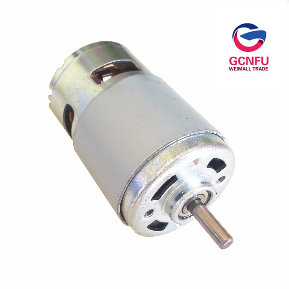 High quality 775 high torque mini DC motor 24V 12V 180W with cooling fan DIY brush motor  free shippingHigh quality 775 high torque mini DC motor 24V 12V 180W with cooling fan DIY brush motor  free shipping