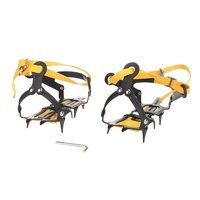 2x Strap Type Crampons Ski Belt High Altitude Hiking Slip Resistant 10 Crampon