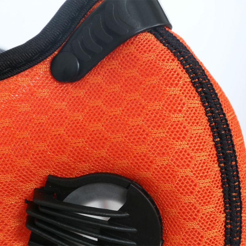 XINTOWN Aktivkohle Dunst Anti-Staub-Filter Atmungsaktiv Fahrrad - Radfahren - Foto 4
