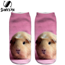 SLMVIAN 3D Printi Women Clothing Woman Socks Unisex Cute Low Cut Ankle Sock Multiple Colors lady Casual funny Shape