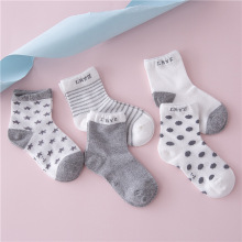 5 PCS/LOT 2016 NEW FASHION Cartoon Unisex Newborn Anti Slip Baby Girls/ Boys Cotton Toddler Boat Socks Spring Fall Socks