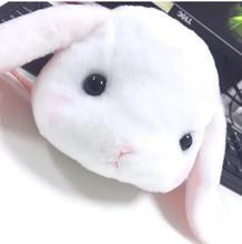 Styles Kawaii Winter Panda Rabbit Cartoon Coin Purse Female Wallets Plush Coin Bag недорого