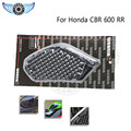 2015 black color motorcycle accessories motorcycle side tank pad protector 3M motocross decal sticker for HONDA CBR 600R 03-06