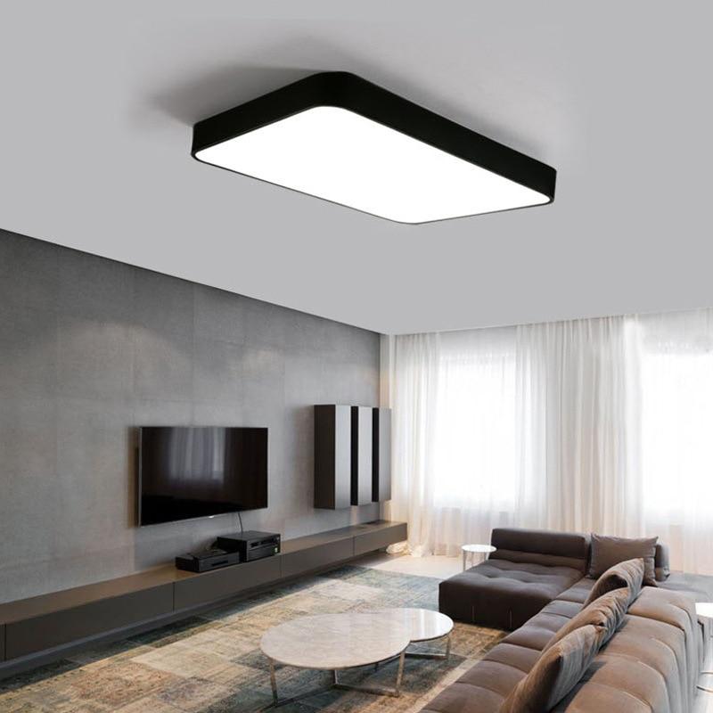 Здесь можно купить  modern LED ceiling lamp Square rectangle style simple sweet indoor The master bedroom light 48w 32w 64w for study bedroom hotel   Свет и освещение
