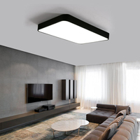 modern LED ceiling lamp Square rectangle style simple sweet indoor The master bedroom light 48w 32w 64w for study bedroom hotel
