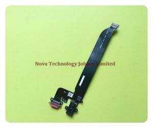Image 4 - Wyieno para oneplus 5 5t carregador porta placa conector de carregamento usb cabo flexível microfone mic plug peças reposição + rastreamento