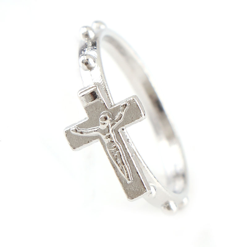 12 шт. серебряные 16/18/20 мм, несколько размеров, религиозный карася, католические круглые кольца, кольца из сплава