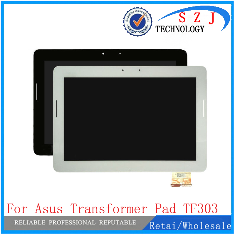 New 10.1 inch LCD Display Touch Screen Panel Digitizer Sensor Glass + frame For Asus Transformer Pad TF303 TF303K TF303CL K014 free shipping for asus transformer pad tf201 tcp10c93 v0 3 touch screen panel digitizer glass lcd display screen panel assembl