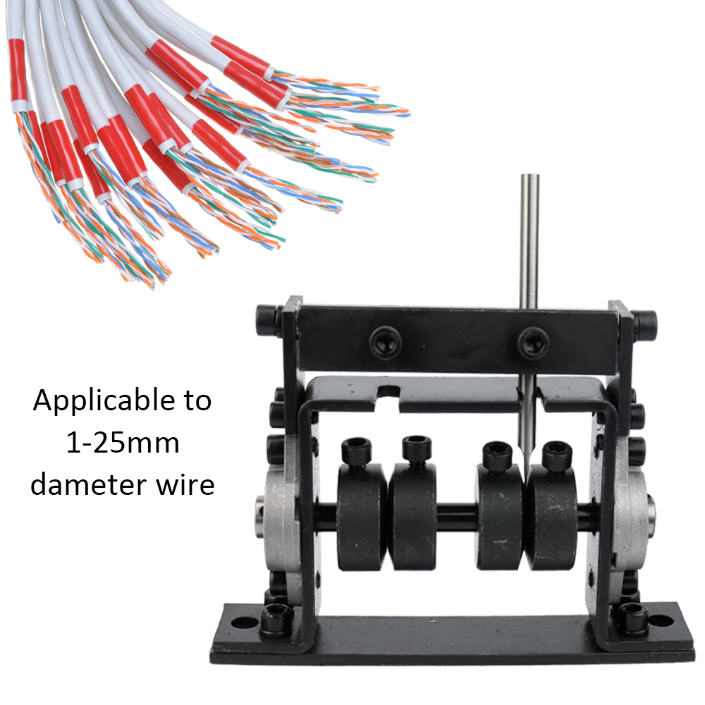 Hand Tool Manual Portable Wire Stripping Machine Scrap Cable Peeling Machines Stripper for 1-25mm