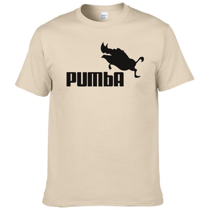 2018 европейский размер бренд PUMBA Лев футболка King 333