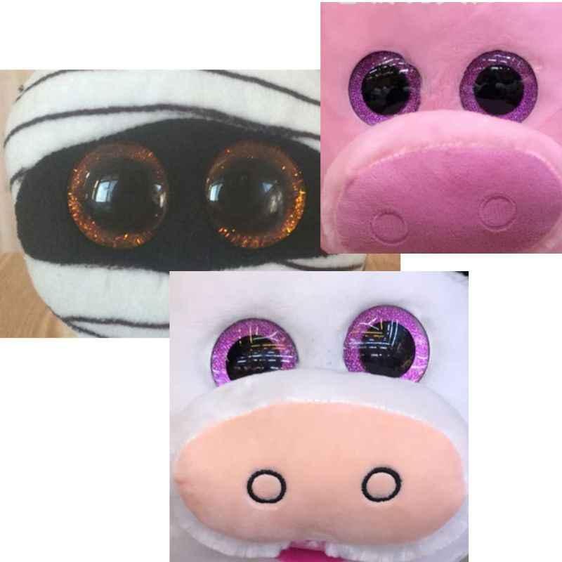16 20 24 Mm 10 Pcs Shinning Boneka Plastik Mata Kerajinan Mata Diy untuk Beruang Mewah Boneka Mainan Boneka Hewan boneka