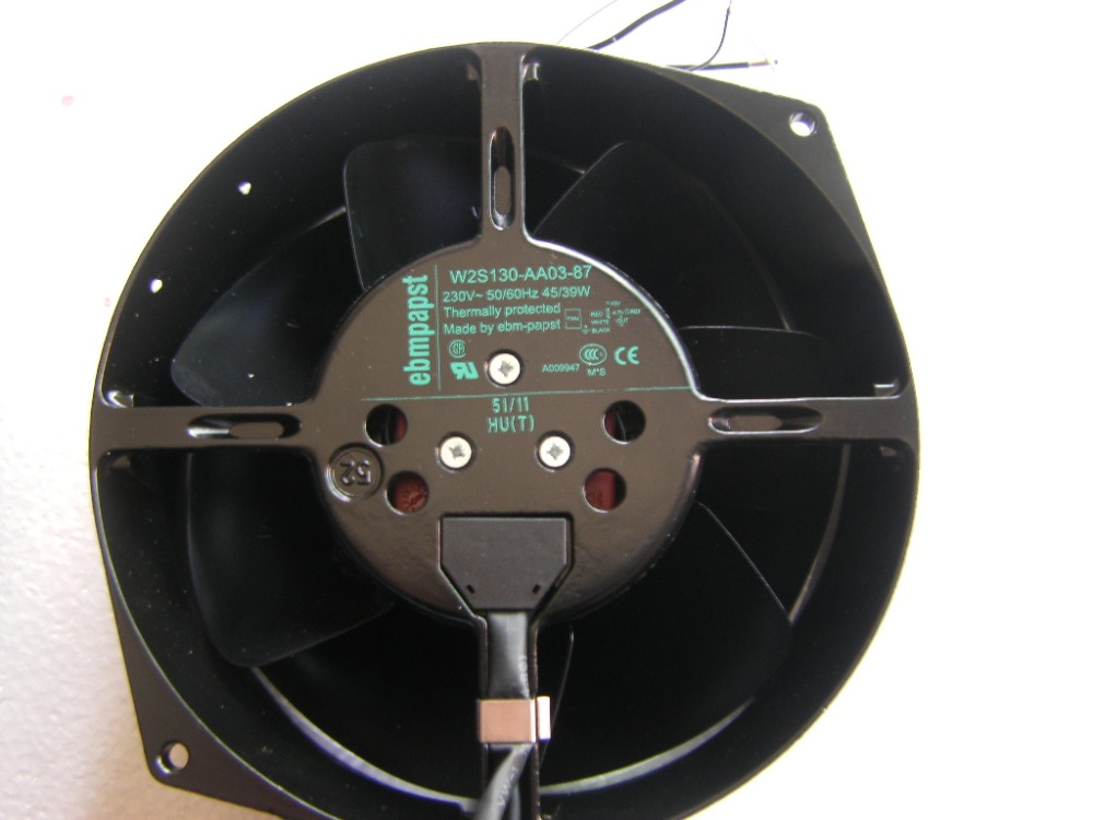 2 Line 5 Line 230V With Induction Original German Ebmpapst W2S130-AA03-87 High Temperature Resistant Fan